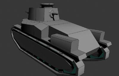 坦克��文P�FBX格式,�л�子旋�D�赢�