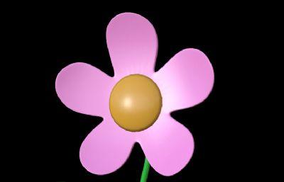 ��d�O果花,�u�^花朵,汽�香水�b��[件3D模型