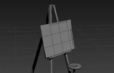 美�g��架3D模型