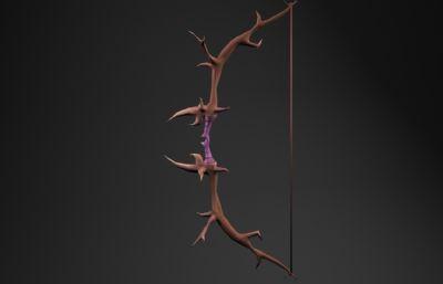 二次元精�`弓maya模型,有�N�D