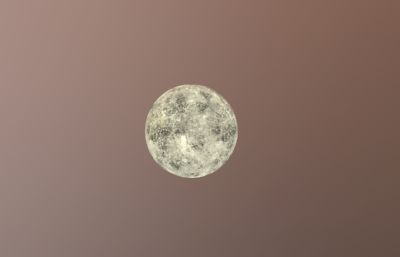 火星,月球,太�OBJ模型,太�和火星需自行�{��色���