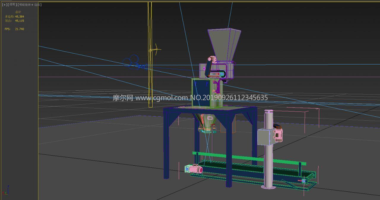 包�b秤3D模型