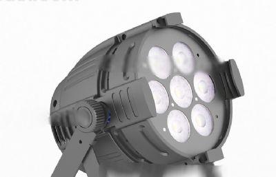 灯,舞台灯,射灯OBJ模型