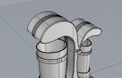 垃圾桶,�h保垃圾桶su模型
