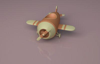 治愈系小�w�CC4D模型
