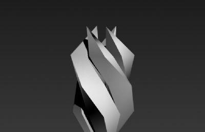 火炬�V�龅袼�3D模型