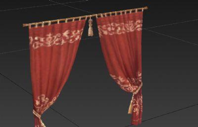 �W式精美窗�3D模型
