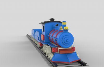 小火�,卡通�\�小火�3DM模型