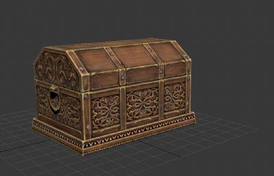 游�蚶锏木�致珠����箱3D模型