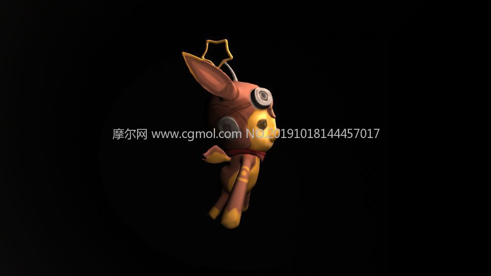 �^�星星形�畹母���小��物maya模型
