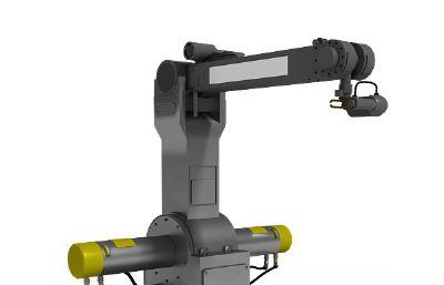 �C械手臂,�C械臂操作�_3D模型
