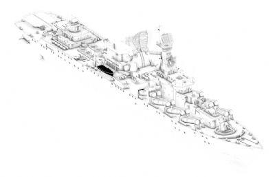光�s����巡洋�3D模型