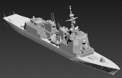 日本海上自�l��坼醇��逐�FBX模型