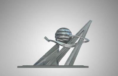 �^�M明珠雕塑�O�3D模型