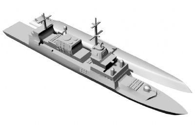 以色列海��_��5型�o�l�STL模型