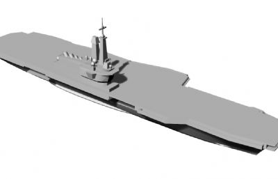 女皇�航空母�STL模型
