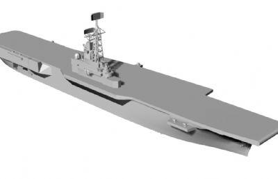 阿根廷海�五月二十五日�航空母�STL模型
