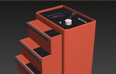 ���f向�的工具箱,工具�3D模型
