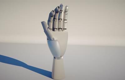 C4D机械手指带XP绑定