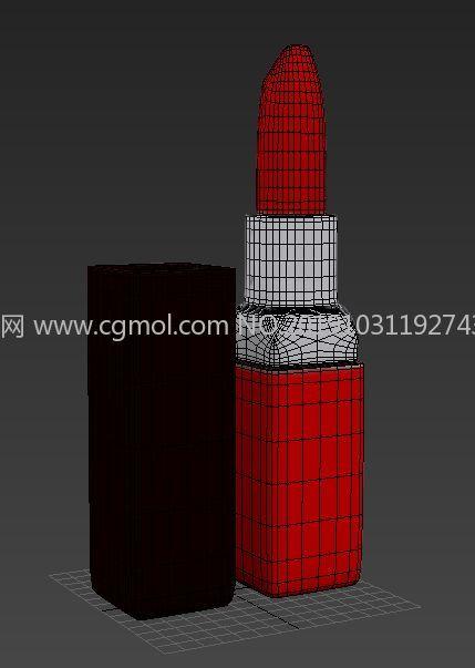 口�t化�y品高模3D模型