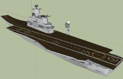 印度海��S克拉��蒂���航空母�su模型