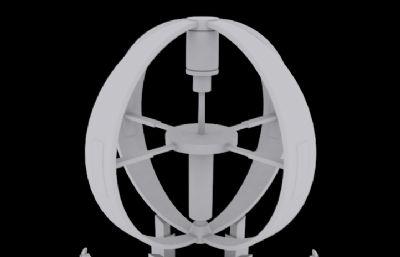 信�接收站�c,信�接收�b置3D模型
