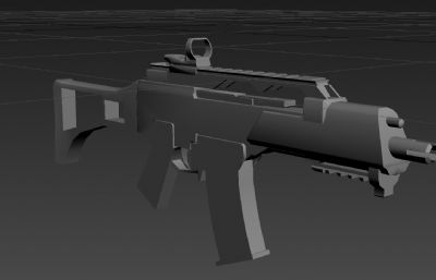G36C步��3D模型