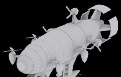 基洛夫�w艇max2014模型