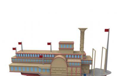 �船游�3MD模型