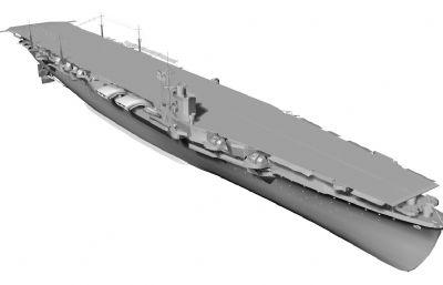 �n���航空母�STL模型