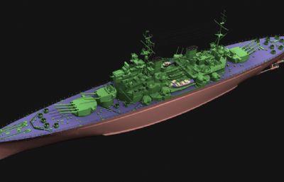英��皇家海��讨挝迨��王��鹆信�3D模型