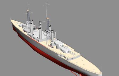 美��海�列克星敦��鹆醒惭笈�3D模型