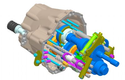 齿轮控制器数模图纸STP模型