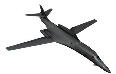 美��空�B-1b�鹇赞Z炸�Cmaya模型