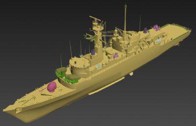 英��皇家海�21型�o�l�3D模型