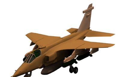 美洲虎攻��C3D模型