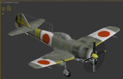 日本疾�L�鸲�C模型,MAX,FBX格式