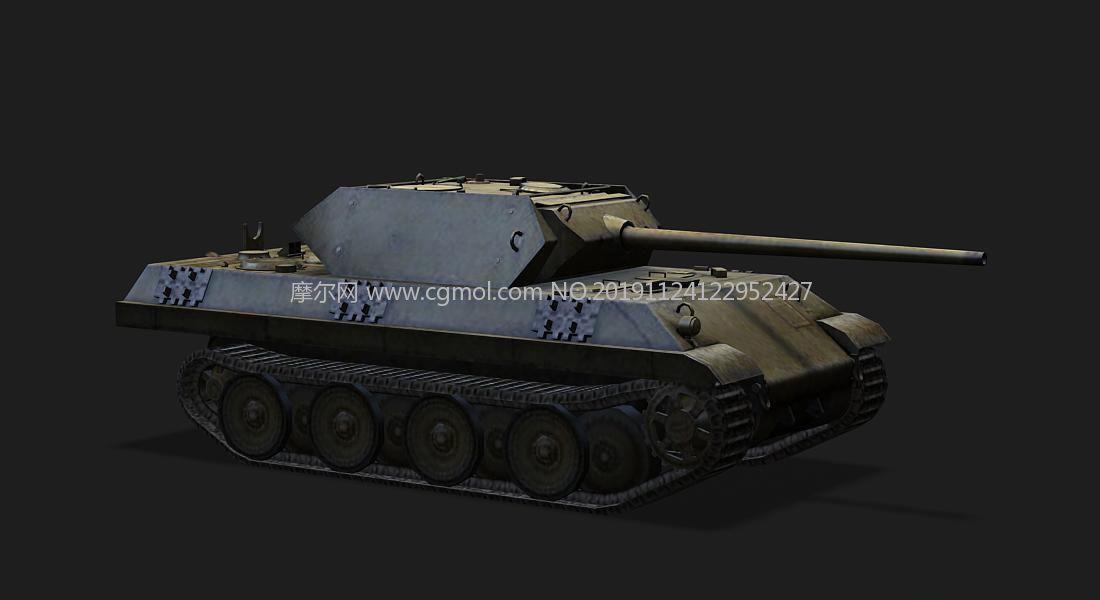 德��M-10坦克���糗�3D模型
