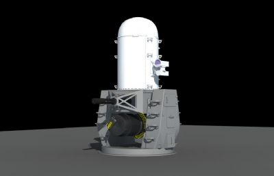 密集�近防炮系�y3D模型