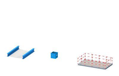 安全平�W、�U料斗、�怏w焊�C平�_3D模型