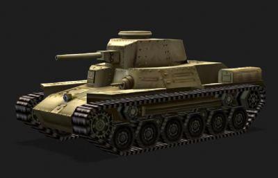 日本97式中�疖�3D低模