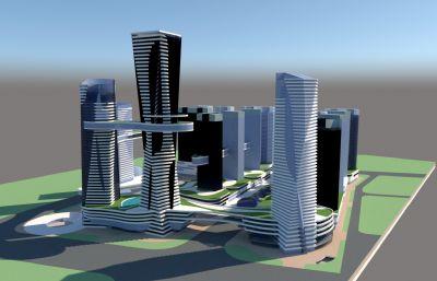 城市商�I�^科技�@su模型
