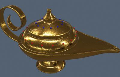 阿拉丁神��3D高模,有�N�D