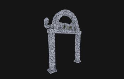 酒�^�T架,�T�^3D模型