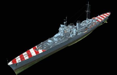 阿布��公爵�重巡洋�OBJ模型