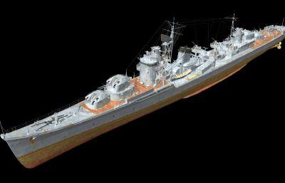 北�L��逐�OBJ模型