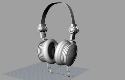 AKG耳�C3DM模型