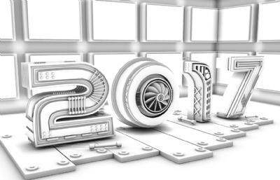 2017年年���谀堪��b建模3D模型