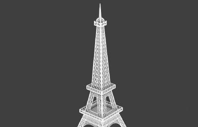 �F塔玩具,埃菲���F塔3D模型
