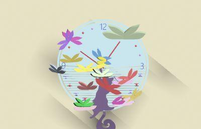 �易的�表�赢�3D模型,指�和�尾巴都能��,蝴蝶�木奂�到散�_